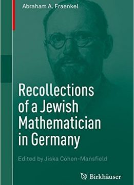 Download ebook Recollections of a Jewish Mathematician in Germany