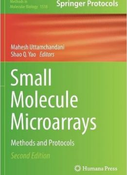 Download ebook Small Molecule Microarrays: Methods & Protocols, 2nd edition
