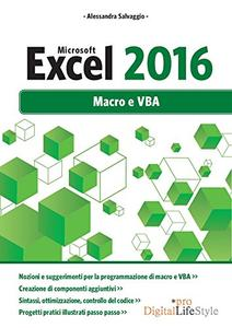 Download ebook Microsoft Excel 2016. Macro e VBA