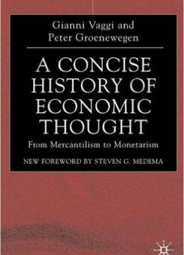 Download ebook A Concise History of Economic Thought