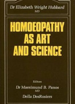 Download ebook Homoeopathy as Art & Science