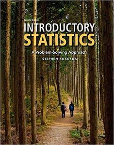 Download ebook Introductory Statistics: A Problem Solving Approach, 2nd Edition