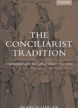 Download ebook The Conciliarist Tradition