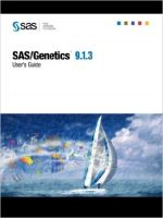 SAS/Genetics 9.1.3 User's Guide