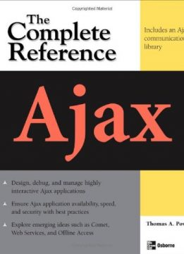 Download ebook Ajax: The Complete Reference