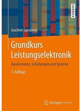 Download ebook Grundkurs Leistungselektronik