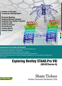 Download Exploring Bentley STAAD.Pro V8i (SELECTseries 6)