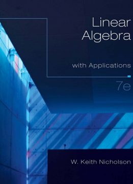 Download ebook Linear Algebra with Applications, 7E (International Edition)