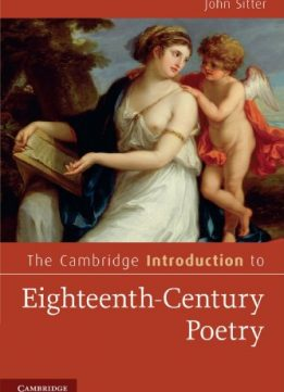 Download ebook The Cambridge Introduction to Eighteenth-Century Poetry
