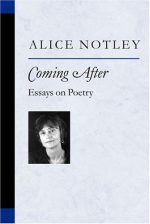 Coming After: Essays on Poetry (Poets on Poetry)