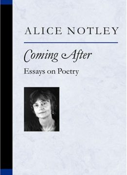 Download ebook Coming After: Essays on Poetry (Poets on Poetry)