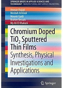 Download ebook Chromium Doped TiO2 Sputtered Thin Films