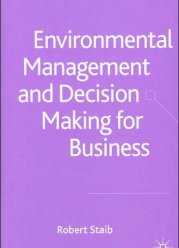Download ebook Environmental Management & Decision Making for Business