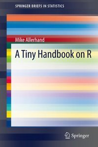 Download ebook A Tiny Handbook of R