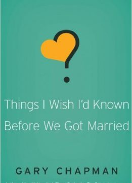 Download ebook Things I Wish I'd Known Before We Got Married