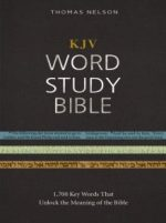 KJV Word Study Bible, Red Letter Edition