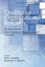 Qualitative Organizational Research – Volume 3