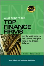 Vault Guide to the Top Finance Firms