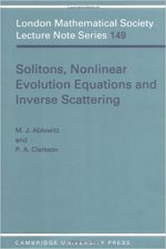 Solitons, Nonlinear Evolution Equations and Inverse Scattering