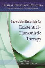 Supervision Essentials for Existential-Humanistic Therapy