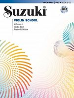 Suzuki Violin School, Vol 4: Violin Part, Book & CD