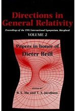 Directions in General Relativity: Volume 2