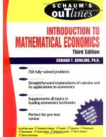 Schaum's Outline to Theory and Problems of Introduction to Mathematical Economics, Third Edition