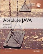 Absolute Java (6th edition )
