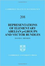 Representations of Elementary Abelian p-Groups and Vector Bundle