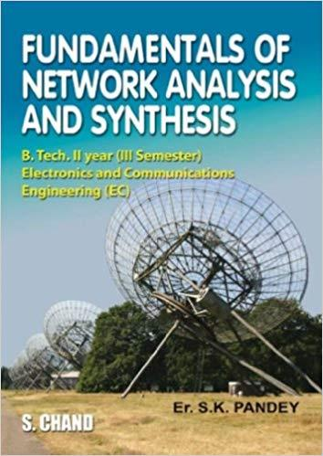 Fundamentals of Network Analysis and Synthesis