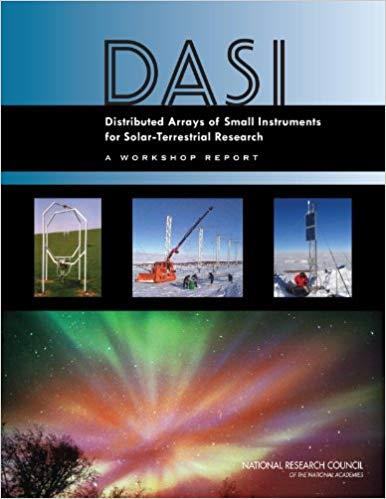 Distributed Arrays of Small Instruments for Solar-Terrestrial Research: Report of a Workshop