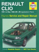 Renault Clio 1991 to May 1998 (H to R registration), petrol. Haynes Service and Repair Manual.