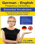 German English Frequency Dictionary – Essential Vocabulary