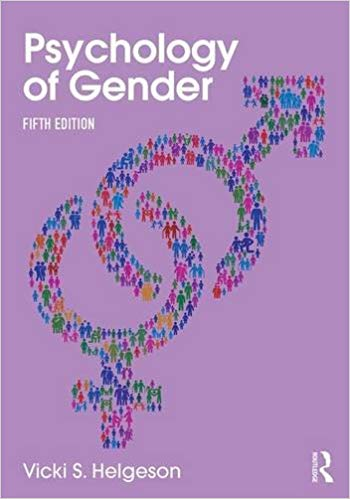 Psychology of Gender: Fifth Edition