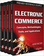 Electronic Commerce: Concepts, Methodologies, Tools and Applications