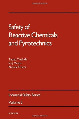 Safety of Reactive Chemicals and Pyrotechnics