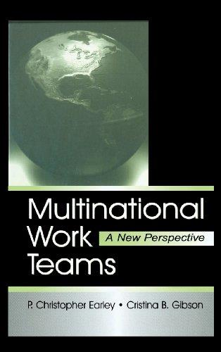 Multinational Work Teams: A New Perspective (Lea's Organization and Management Series)