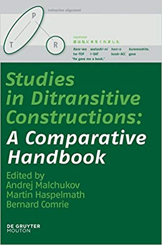 Studies in Ditransitive Constructions: A Comparative Handbook