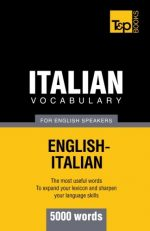 Italian vocabulary for English speakers – 5000 words