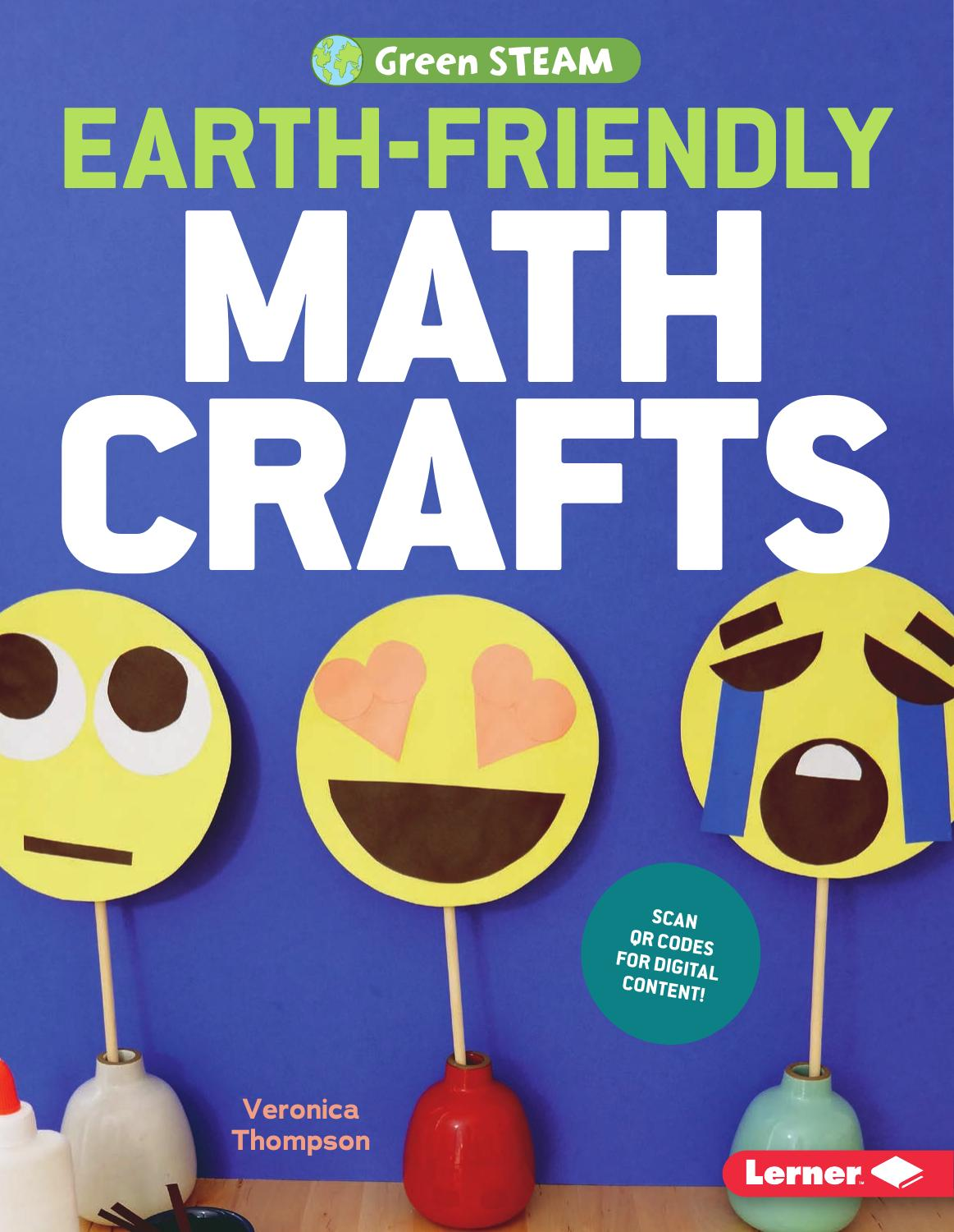Earth-Friendly Math Crafts (Green STEAM)