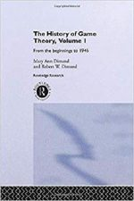 The History Of Game Theory, Volume 1
