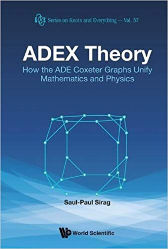 Adex Theory: How The Ade Coxeter Graphs Unify Mathematics And Physics
