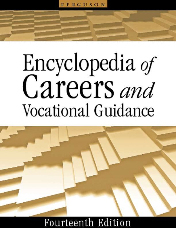 Encyclopedia of Careers and Vocational Guidance (5-Volume Set)