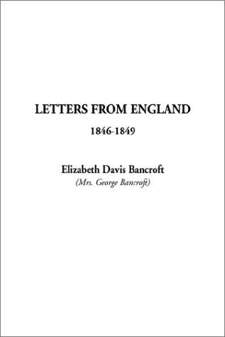 Letters from England 1846-1849