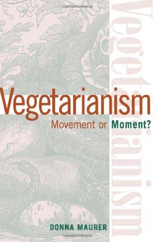 Vegetarianism. Movement or moment