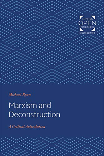 Marxism and Deconstruction: A Critical Articulation