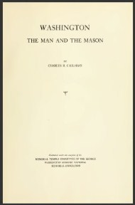 Washington, The Man and the Mason