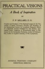Practical Visions, A Book of Inspiration