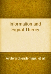 Information and Signal Theory