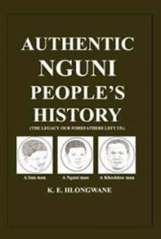 Authentic Nguni Peoples HIstory